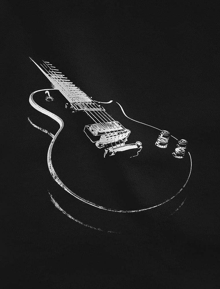 Camiseta para Hombre - Camisetas Guitarra Electrica Camisetas ...