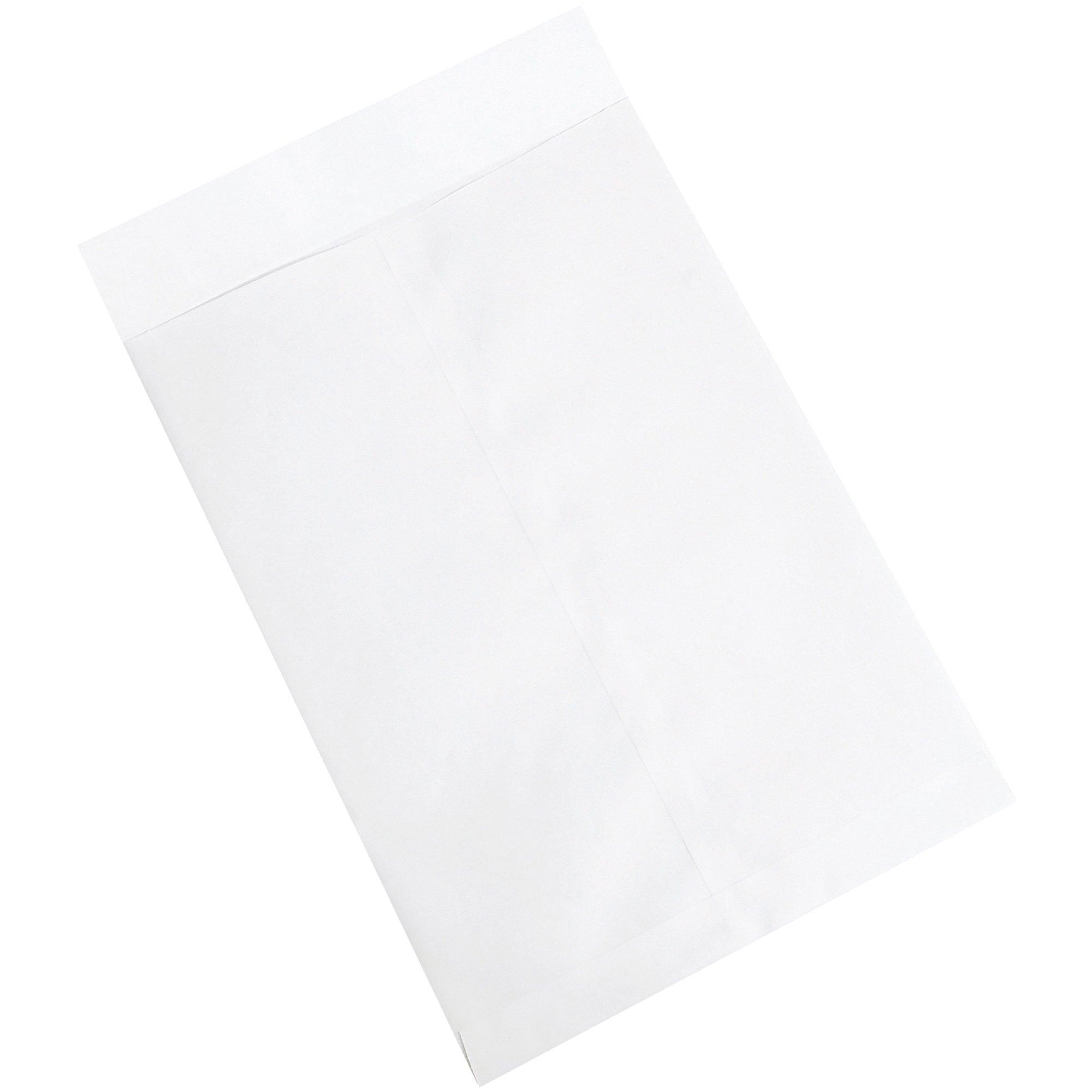 Aviditi EN1080W Jumbo Envelopes, 12 1/2'' x 18 1/2'', White (Pack of 250)