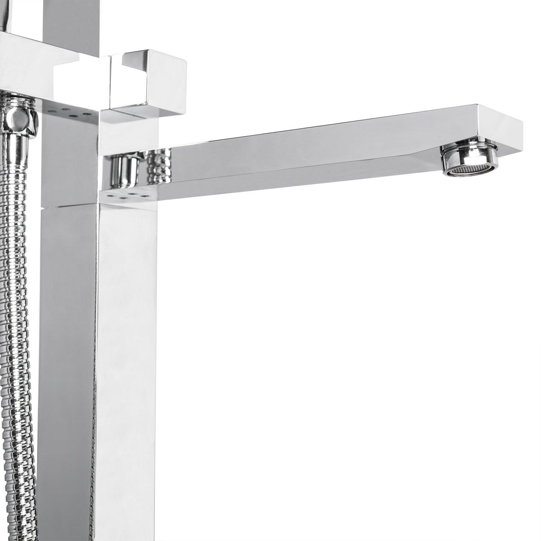 AKDY 8733 Contemporary Freestanding Floor Mount Bath Tub Filler