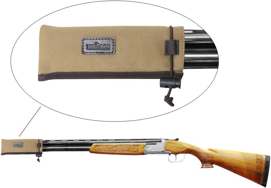 Tourbon Caza Pistola Accesorios Lienzo Pistola para Escopeta calcetín
