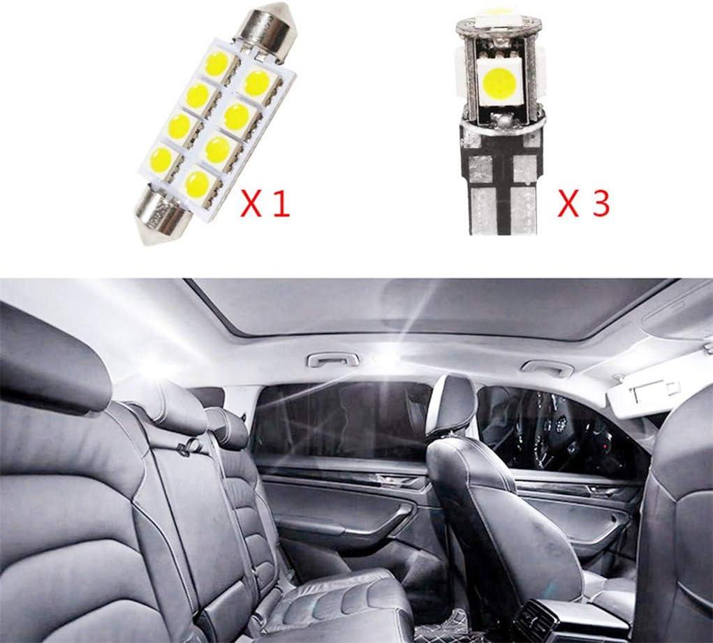 SEAT CAR WHITE LIGHT BULBS LED ERROR FREE CANBUS 5 SMD XENON