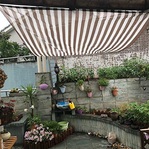 Frilivin - Toldo de Malla de 75% UV para jardín al Aire Libre, toldo de café, Tira Blanca: Amazon.es: Jardín
