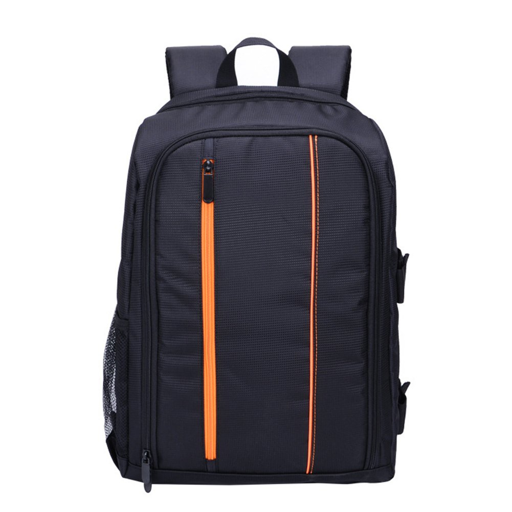 Shentesel Camera Backpack Outdoor Waterproof DSLR Travel Shoulder Laptop Bag for Canon - Orange L