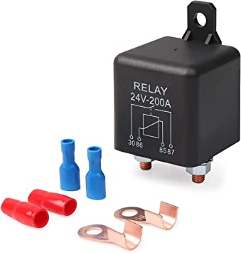 New 12V 200A Heavy Duty Split Charge ON//OFF Relay Car Vehile Boat