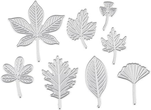 Blätter Design Metall Stanzformen für DIY Scrapbooking Album Papier Karten  AB