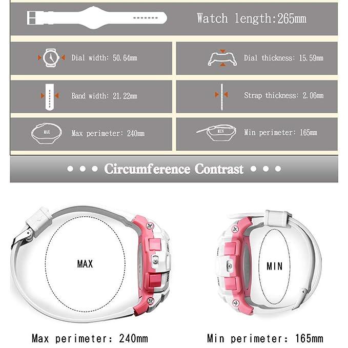 Reloj Digital Niños y Niñas Reloj Electronico Multifuncional ...