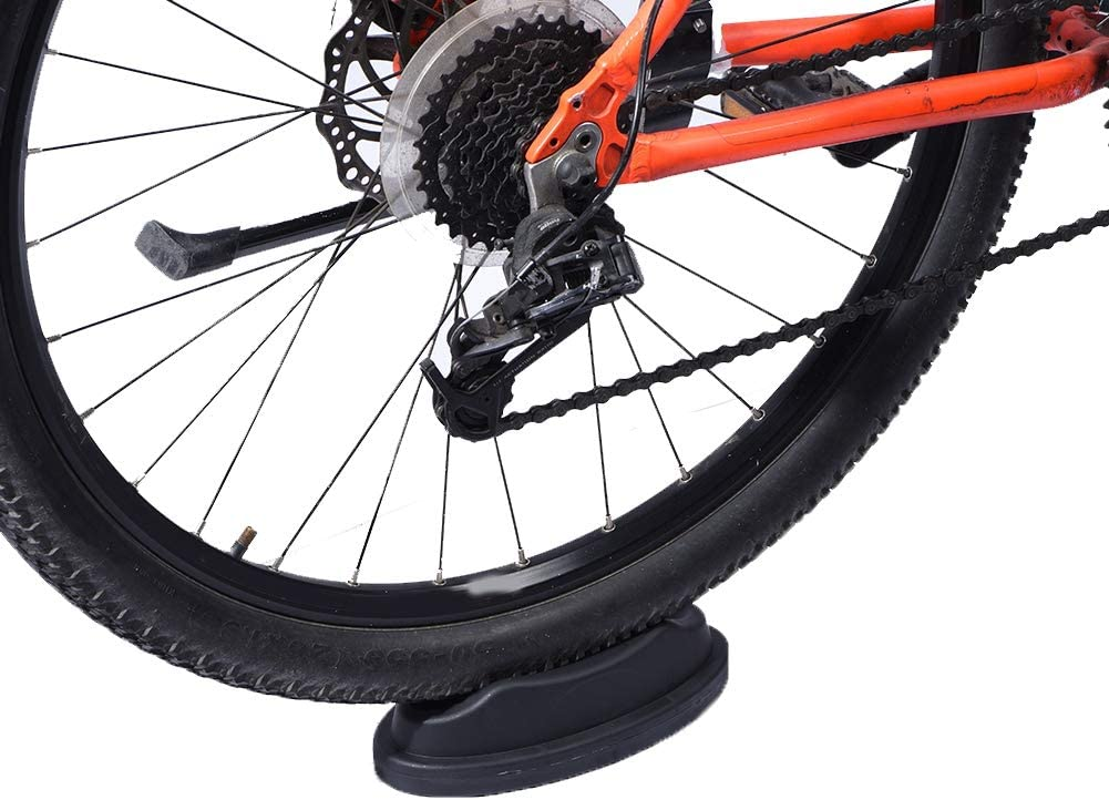 ANGGREK Cycling Front Wheel Riser Cycling Block for Indoor Bicycle Training Bike Trainer Stand