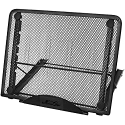 Laptop Stand,Folding Portable Adjustable Desktop Table Laptop Notebook Support Holder Ventilated Mesh Cooling Stand Display Rack Universal Fit for iPad/MacBook/Tablet Holder Stand Desk Laptop Riser