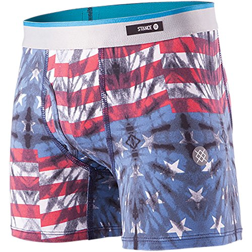 Stance Mens Basilone Fitted Boxer Brief w/ Fly (Little Kids/Big Kids)