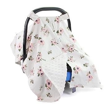 passt Standard Neugeborene carseats Baby Autositz Schutz S/äuglinge und Kleinkinder Unisex Extra Gro/ß Leicht und Atmungsaktiv Himmel Baumwolle Musselin