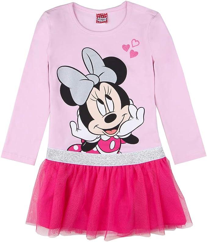 Disney Abito per Ragazze Minnie Mouse