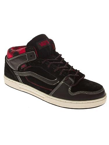 9660cac3c8 Vans Sneaker Men Edgemont Black Red  Amazon.co.uk  Shoes   Bags