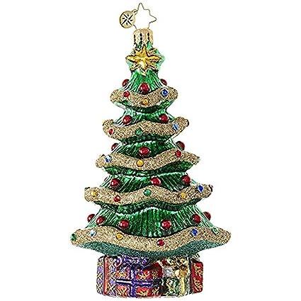 Christopher Radko Garland Christmas Tree Glass Christmas Ornament -  5.5&quot ... - Amazon.com: Christopher Radko Garland Christmas Tree Glass Christmas