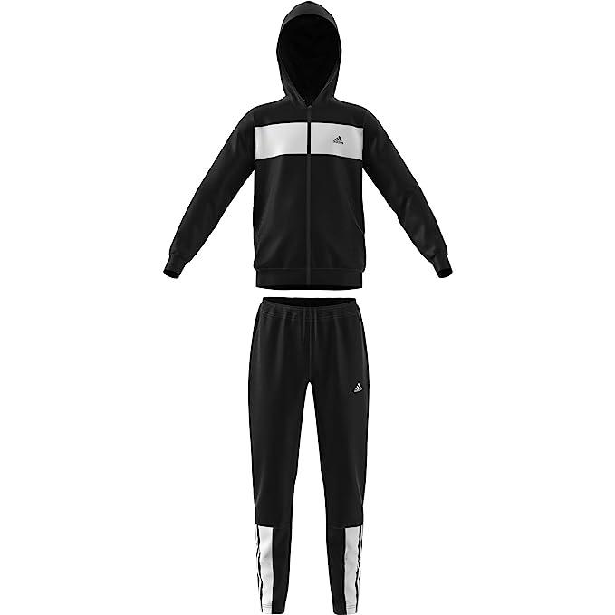 adidas Children's Yb Cotton Ts Tracksuit: Amazon.co.uk