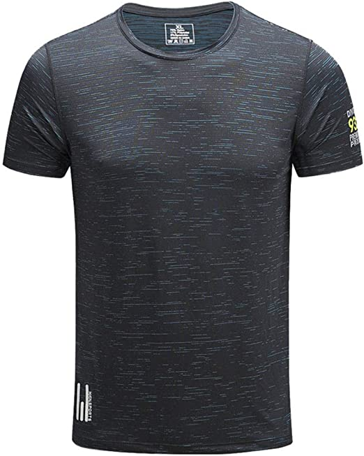 Sykooria Camiseta de Compresi/ón Deportiva para Hombre Ropa Deportiva de Manga Larga de Transpirable y Secado R/ápido Correr Gym Entrenamiento Ciclismo