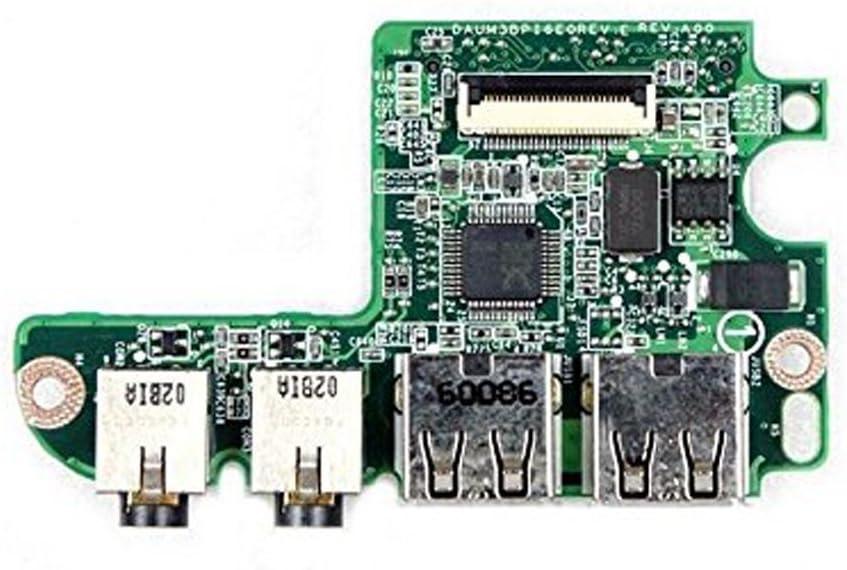 Dell Inspiron 1564 1764 Audio USB and Card Reader IO Board DAUM3BPI6E0 Y5XYF 0Y5XYF CN-0Y5XYF