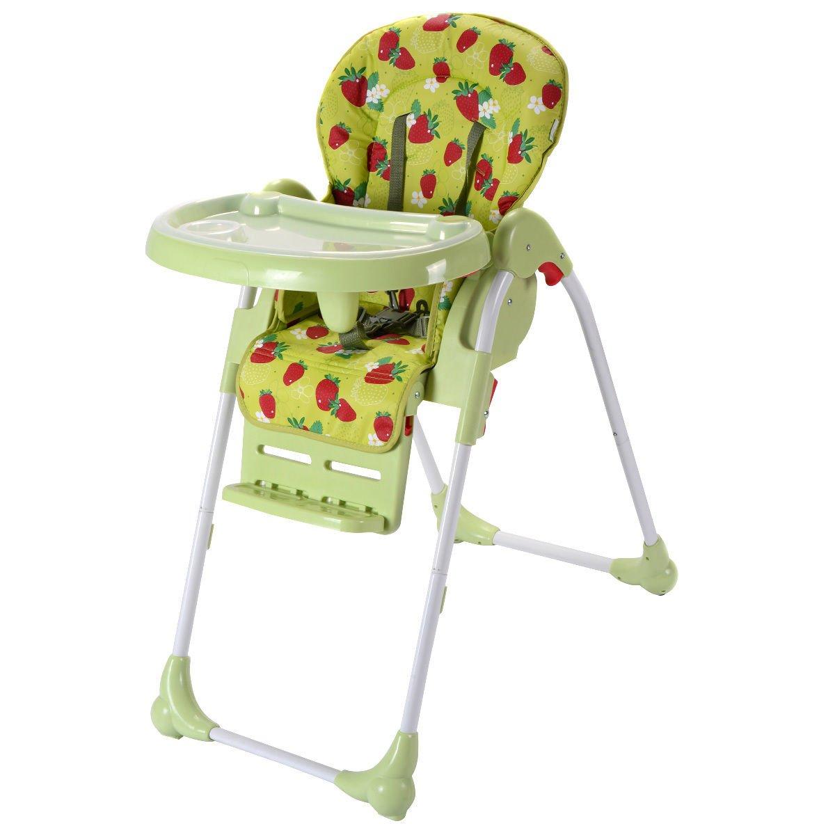 Amazon Com Costzon Adjustable Baby High Chair Infant