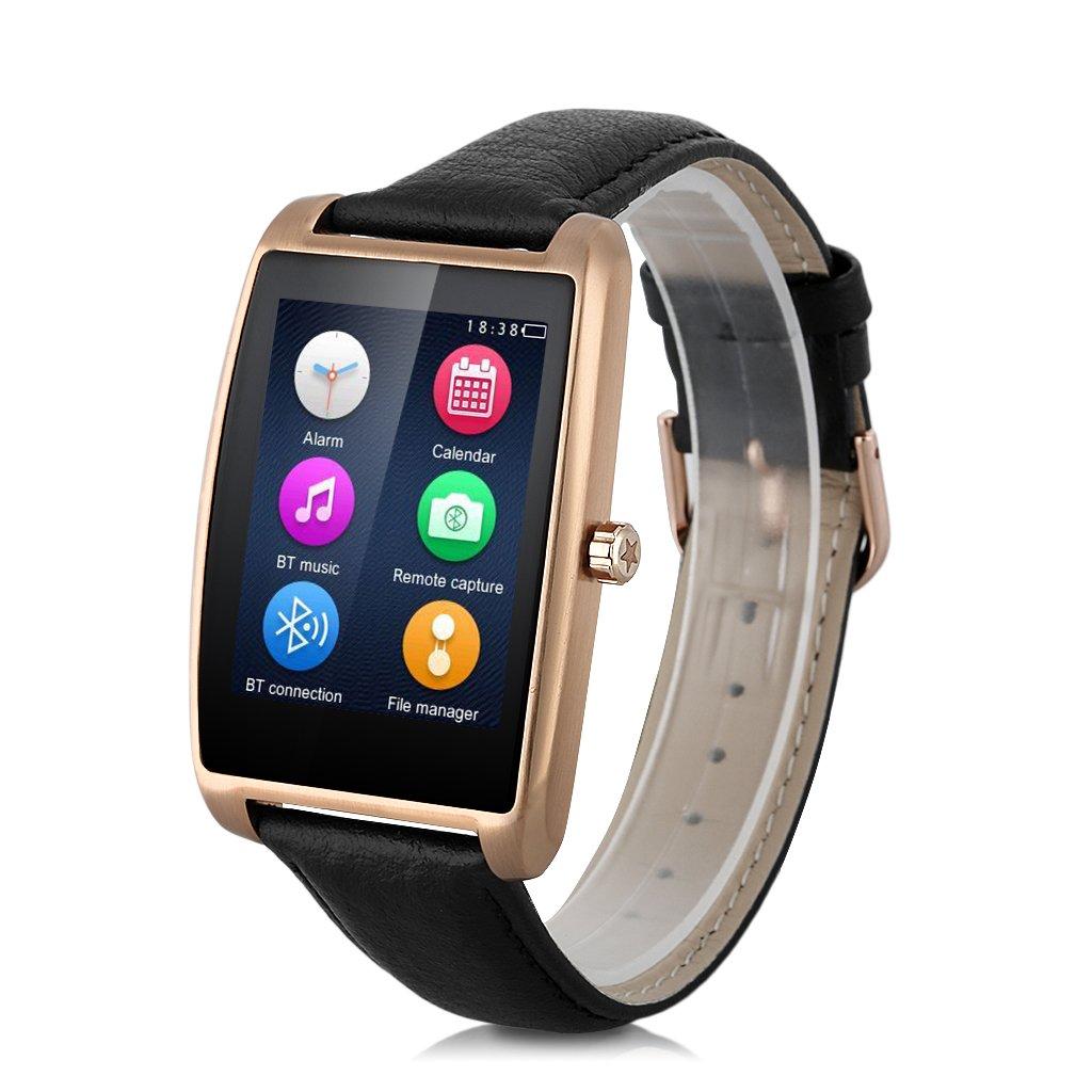 Zeblaze Cosmo - Reloj Inteligente SmartWatch (IP65, Podometro, Ritmo Cardíaco, Notificador, Multi-Sincronización, Compatible Con Android, IOS) Dorado