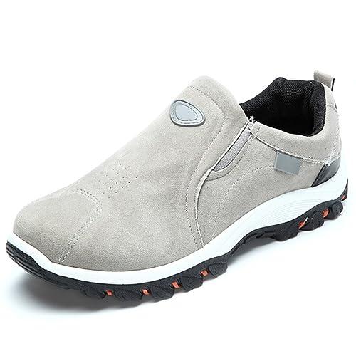 UNLIMITED P/E scarpe uomo sportive sneakers running tela camoscio casual grigio PZBK5TEz