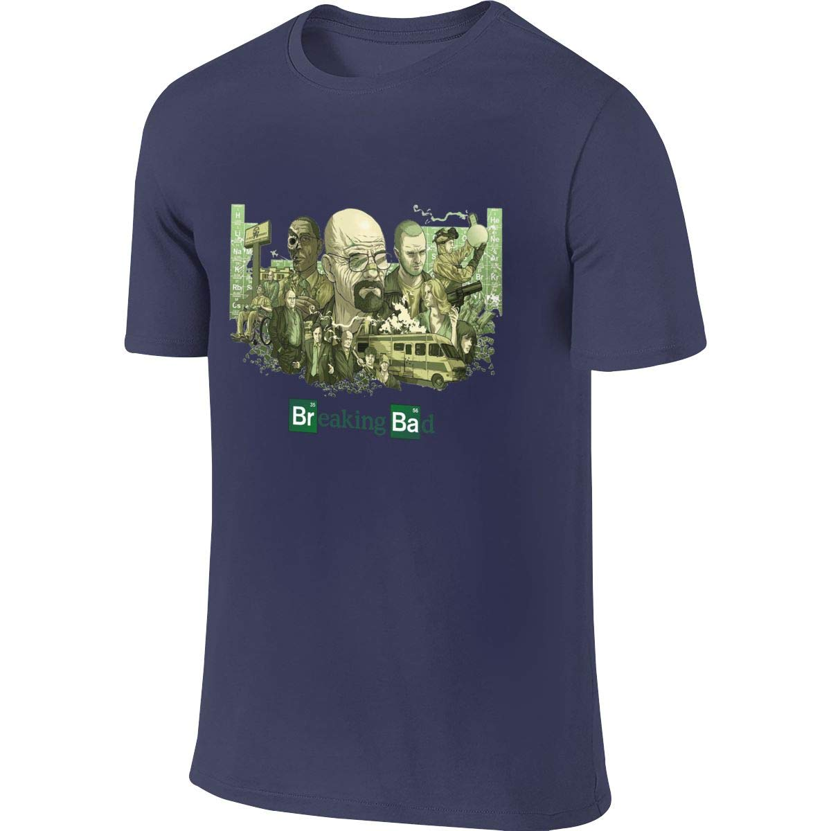 BYSKA Men Designed Cool Tee Shirt Breaking Bad Tshirt