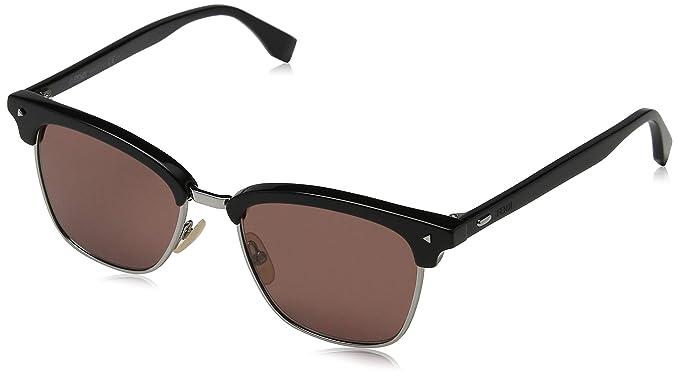 Fendi Hombre FF M0003/S 4S 807 52 Gafas de sol, Negro (Black ...
