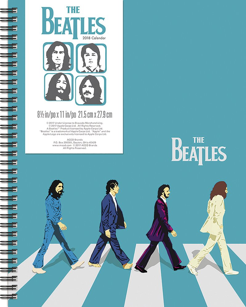 ACCO Brands 2020 Beatles Two Year Pocket Planner with Full Color Cover 24