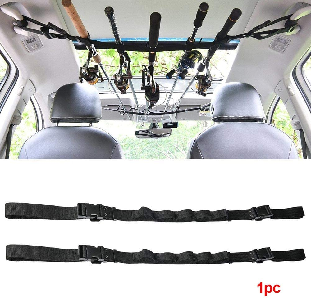 Amazon Com Dyey Vehicle Fishing Rod Carrier Rod Holder Belt Strap With Tie Suspenders Car Fishing Rod Storage Strap Rack Fishing Pole Holder For Truck Suv Wagons Vans 1pcs Sports Outdoors