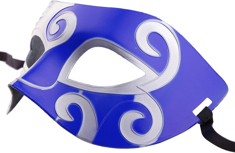 CISMARK Unisex Retro Masquerade Mask Mardi Gras Costume Party Acccessory Pack of 10