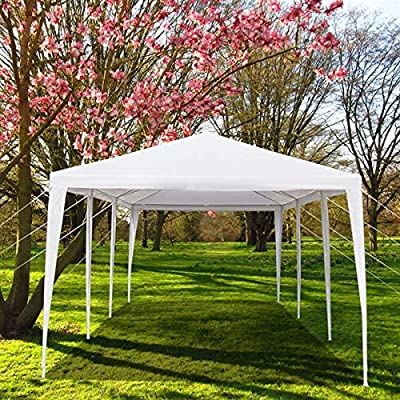 10'x30' Outdoor Canopy Tent Heavy Duty Party Wedding Event Tent Sturdy Steel Frame,Waterproof Shelter Gazebo Canopy Tent, Five Sides, US Stock: Sports & Outdoors