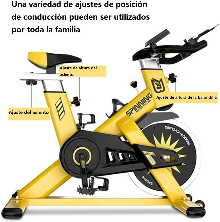 Hejinyun abdomen máquina Spinning bike ultra-quiet ejercicio ...