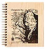 San Juan and Gulf Islands in San Juan Capital Regional District BC, WA - Journal 9 x 12 IN - Lake Etched Wire-Bound Birch Journal-9?x 8? offers