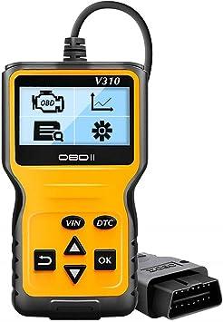 OBDScar OS601/EOBD OBD2/Scanner Automotive Engine Fault Code Reader Can Diagnostic Scan Tool Modello 2019