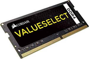 Corsair 16GB Module (1x16GB) DDR4 2133MHz Unbuffered CL15 SODIMM