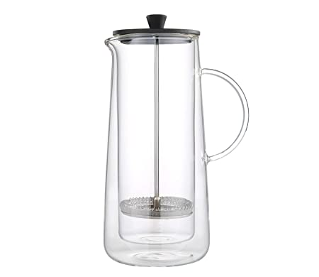 Zassenhaus KP0000045024 Aroma Press - Cafetera (cristal): Amazon ...