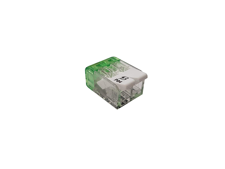 GREENB↯RRY - Verbindungsklemme mit Betä tigungshebel 2-polig VE 100 Stü ck Hebelklemme GREENBERRY LTD