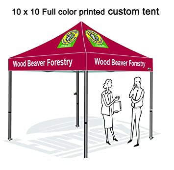 Eurmax Custom Printed Canopy 10x10 Custom Full Color Imprinted Tent  Commercial Pop Up Tent  sc 1 st  Amazon.com & Amazon.com : Eurmax Custom Printed Canopy 10x10 Custom Full Color ...