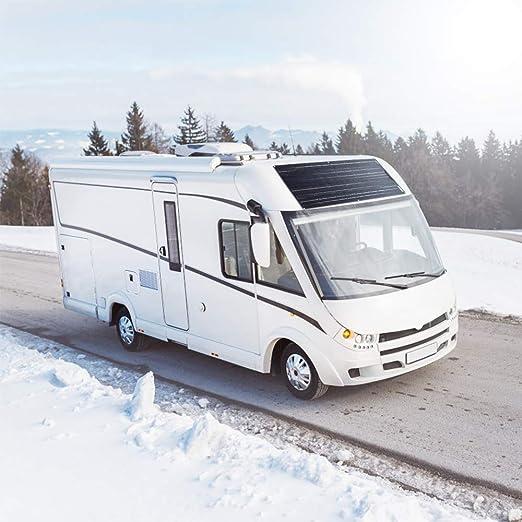 bateau chargeur de batterie 12V voiture caravane 300 YUANFENGPOWER 300w 12v Kit de panneau solaire Modules solaires souple 100W 18v Contr/ôleur solaire 30A pour camping-car