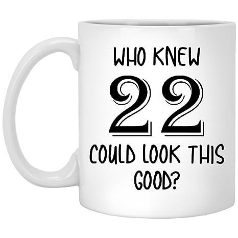 Amazon.com: Regalos de 22 cumpleaños, 22 y fabuloso, regalo ...