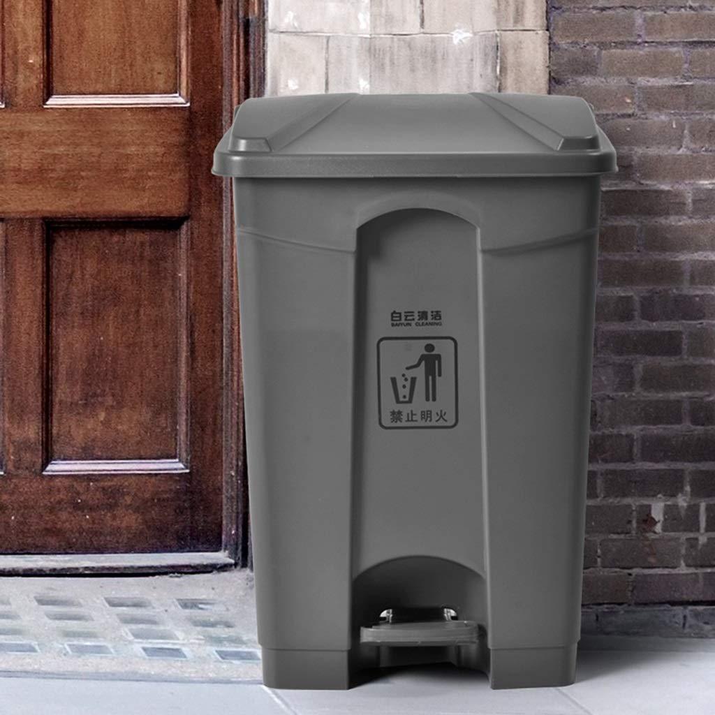 Dimensioni : 30L Cestino di Spazzatura Coperchio Contenitore di immondizia pattumiera in plastica da Cucina Cestino per rifiuti Domestici