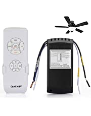 QIACHIP Ceiling Fan Remote Control Kit.110V Universal Timing Wireless