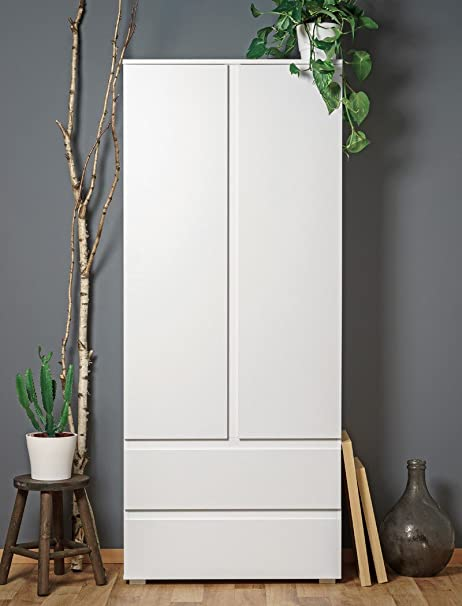 expendio Mueble Multiusos imke 7 Blanco 80 x 191 x 40 cm ...