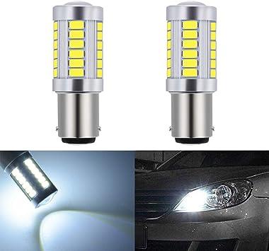 Super Bright White 3156 5630 SMD 33-LED Tail Reverse Bulb Parking Light Lamp 12V