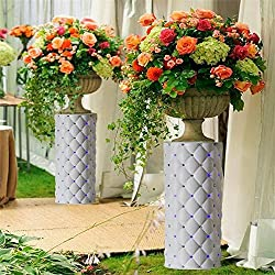 "Efavormart 4 Pillars/Set Decorative Wedding Columns Pillars 30"" tall with LED lights"