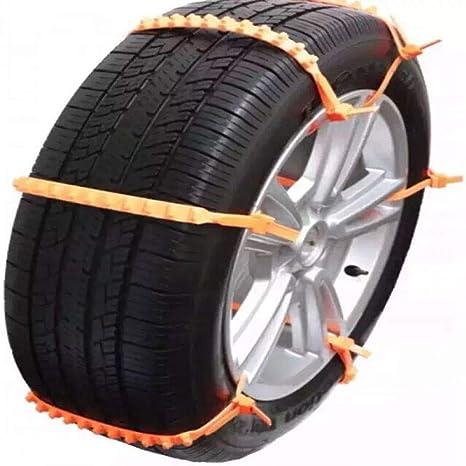 GSYDXL Rueda de Lodo Antideslizante 10 Piezas/Lote tendón Engrosado Invierno Cadenas para Nieve Neumático