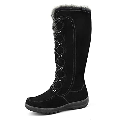 Comfy Moda Women's Warm Insulated Snow Boots Warsaw | Snow Boots