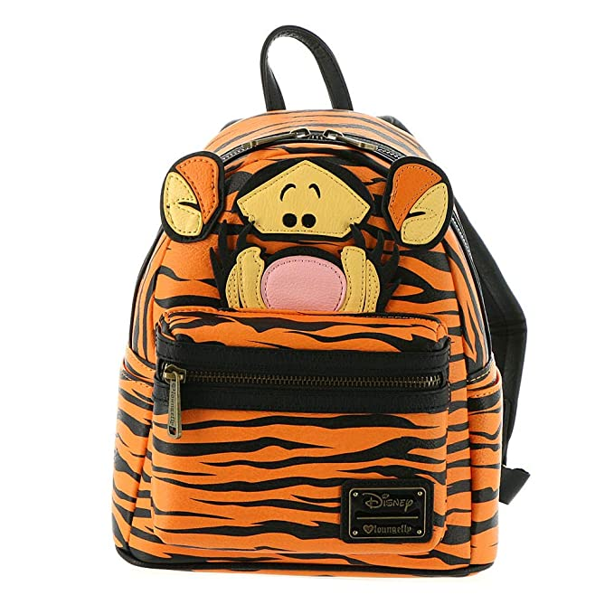 Loungefly Winnie the Pooh Tigger Faux Mohair Mini Backpack Standard