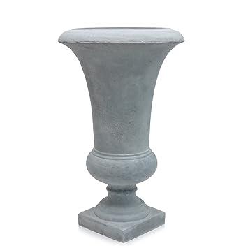 Amphore Pflanzkübel | Vase Zement - Optik | grau | klassisch modern ...