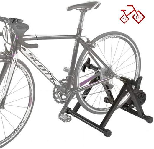 LFDHSF Bicicleta Entrenadores, Bicicleta estática Entrenamiento ...