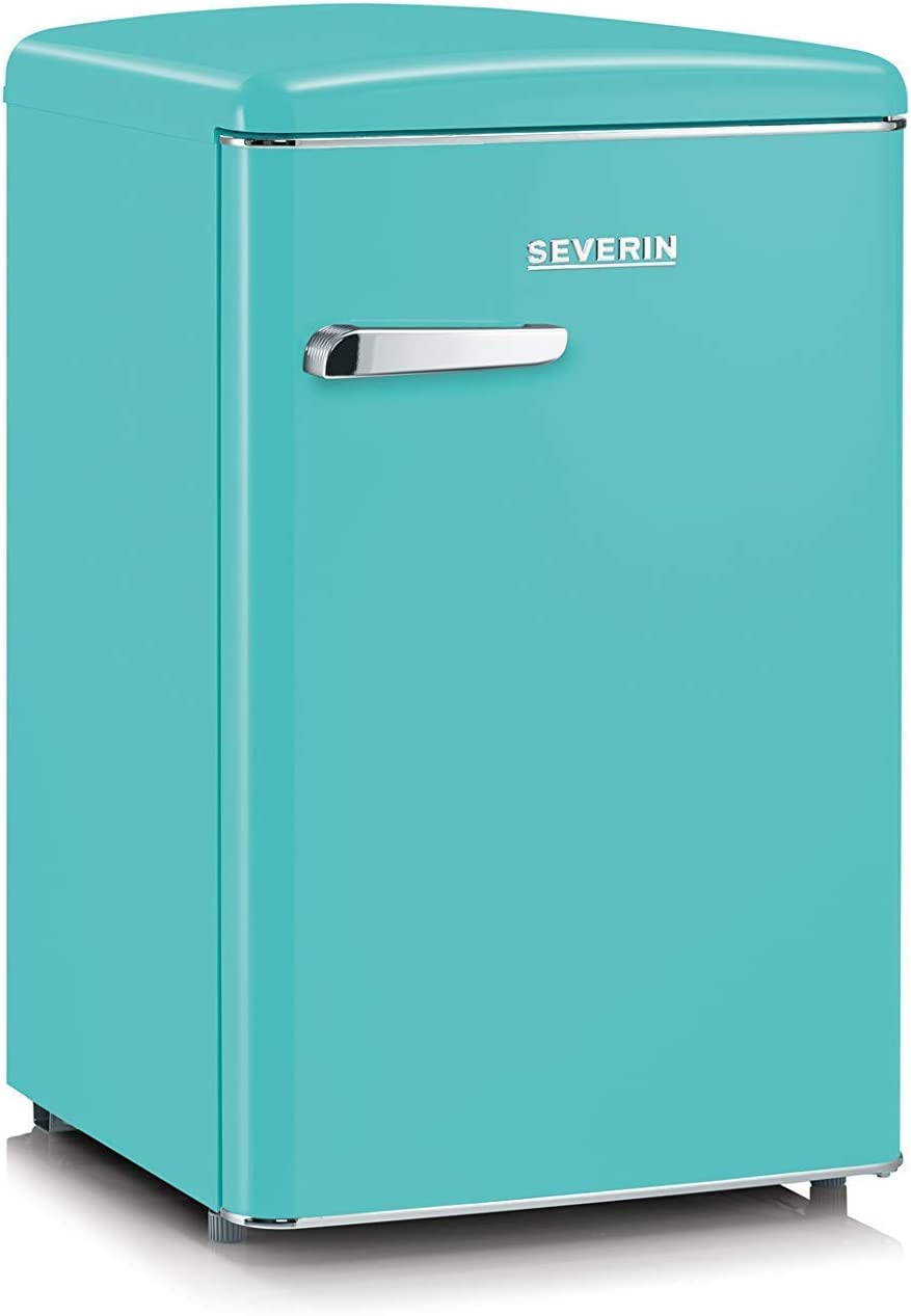 SEVERIN RKS 8834, Mini-Frigorífico Retro, 106 L, Turquesa: Amazon ...