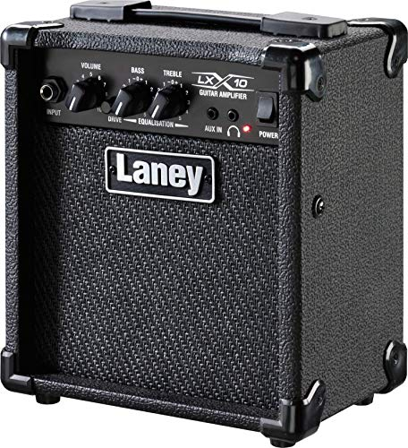 (Laney Electric Guitar Mini Amplifier (LX10 BK))